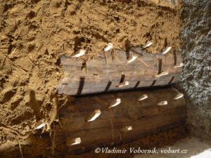 Roubenka hliněná omítka